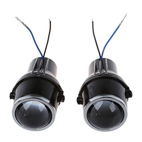 SODIAL(R) 55W H3 Universal HID Xenon Halogen Nebel Gluehlampen Lampen Auto Selbst Objektive 2 Stk.