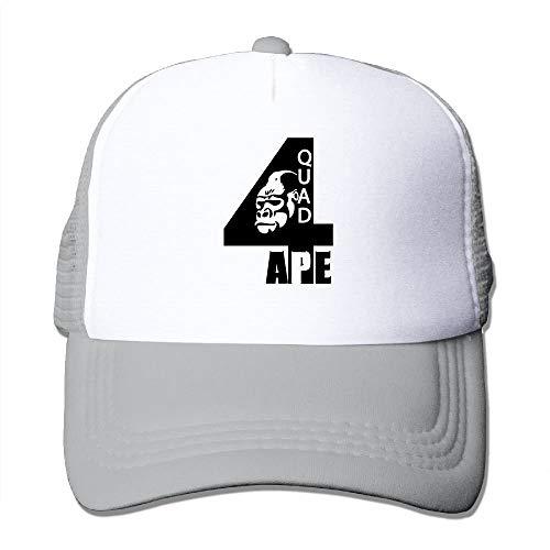 Quad Four Alpha Phi Alpha Big Foam Snapback Caps Mesh Back Adjustable Cap