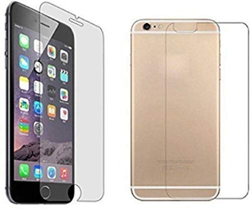 ZOS ZAIN ONLINE STORE 9H Edge-to-Edge Front and Back Tempered Glass for Apple iPhone 6 (Transparent)