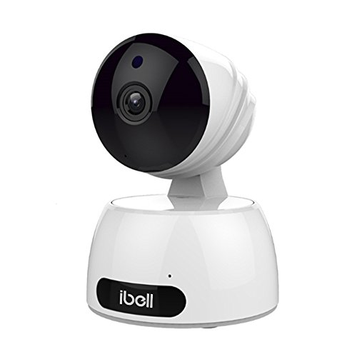 Wireless IP Camera, ibell HD Baby Pet Monitor, WiFi Indoor CCTV Camera for Home Security with Night Vision, Pan Tilt, Two-way Audio and Motion Detection Function (720P)