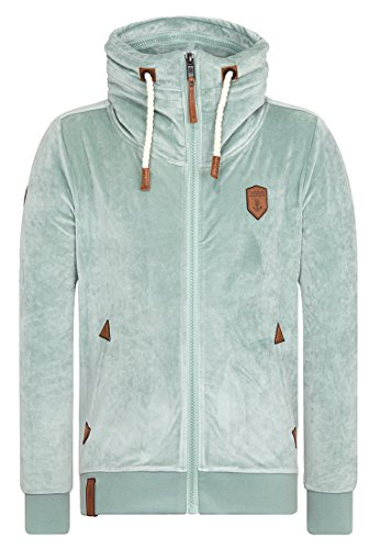 Naketano Male Zipped Jacket Ivic Mack IV Milky Green