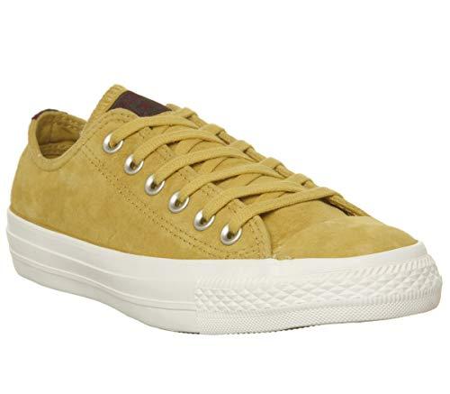 Converse - Zapatillas Chuck Taylor All Star Core Ox, para Adulto, Unisex - 6 UK - Desert Marigold Egret Heel Stripe Exclusive