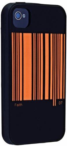Ozaki iCoat 7 Virtues Etui rigide en Silicone avec film protecteur pour iPhone 4 Fortitude Faith