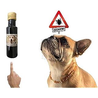 amberdog Schwarzkümmelöl Hund gegen Zecken/Nigella Sativa 100ml extra mild/für Hunde/Wird von unseren Kunden als Zeckenschutz eingesetzt