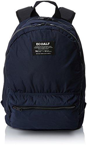ECOALF Munich Backpack, Mochila Unisex Adulto, Azul (Deep Navy), 20x40x18 cm (W x H x L)