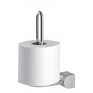 Reserve - Toilettenpapierrollenhalter doppelt + kostenloser Versand / 3454 Tiger Cria Chrom Matt Badzubehör Set Serie Papierhalter, Toilettenpapier Halterung, Toilettenpapierhalter, mit Klappe, Klopapierhalter mit Klappe, Reserverollenhalter, Ersatzrollenhalter, Ersatzrolle doppelt, für 2 Rollen