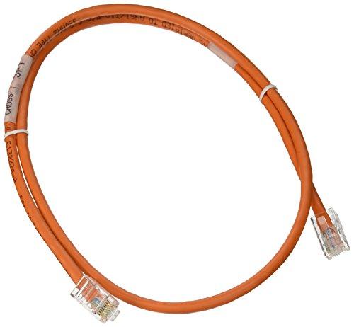 C2G 3Ft Assembled CAT5e Crossover 0.9m orange Networking Cable–Networking Cables (0.9m, Cat5e, orange)