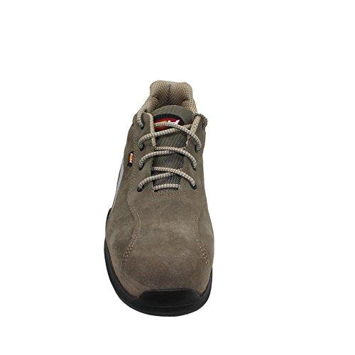 PSH s1P sRC chaussures de travail chaussures chaussures berufsschuhe businessschuhe plat marron Marron - Marron