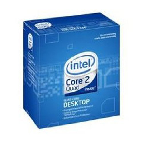 Intel Core 2 Quad Desktop-Prozessor Q9300 Box (2,5 GHz, Sockel 775, 6 MB L2-Cache)