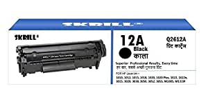 ) (Q2612AD HP 12A Cartouche Toner Capacité de rendement de 2000 Pages/2, de la boîte, noir contenu :  1 boîte