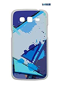 Lorem Back Cover For Samsung Galaxy Grand 2 Duos (G7106)-Multicolor-L13788