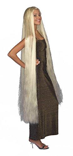 Lady Godiva Extra Long Blonde Adult Costume -