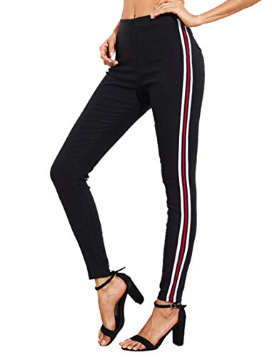 Kefirlily Mujer Raya Legging Bodycon Otoño Primavera
