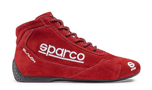 Sparco 00126445RS Slalom Racing Stiefel Größe 45 RED RB 3.1