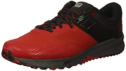 New Balance Nitrel v2, Scarpe da Trail Running Uomo, Rosso (Team Red/Black/Magnet Lr2), 44 EU