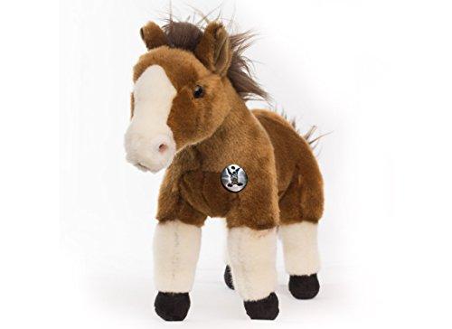 Pferd SUNNY Pony braun 35 cm Plüschtier von Kuscheltiere.biz
