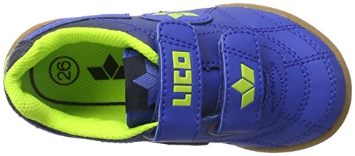 Lico Bernie V, Chaussures de Handball Mixte Enfant Bleu (Blau/marine)