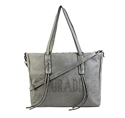 Satchel Emboss Tassle Handbag