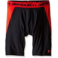 Under Armour Up Leggings Fitness da ragazzo pantaloni & pantaloncini, Ragazzo, Fitness Hose Armour Up Leggings, nero, M