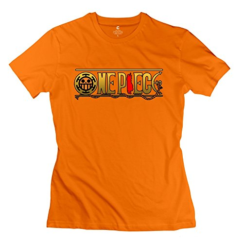 (Kst Frauen One Piece Logo T-Shirt 100% Baumwolle Cool Gr. X-Large, Orange)