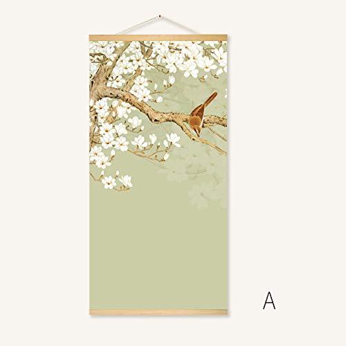 immer Wohnzimmer hängen Scroll Scroll Malerei Sushi Restaurant Bilderrahmen ()