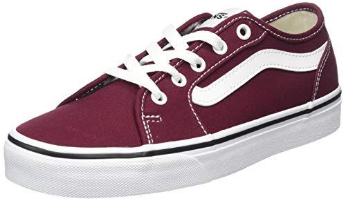 Vans Damen Filmore Decon Sneaker, Rot ((Canvas) Port Royale/True White Mc0) 34.5 EU