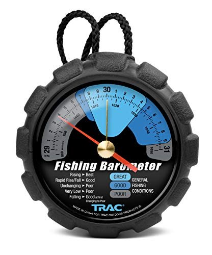 TRAC Outdoor T3002Fishing Barometer