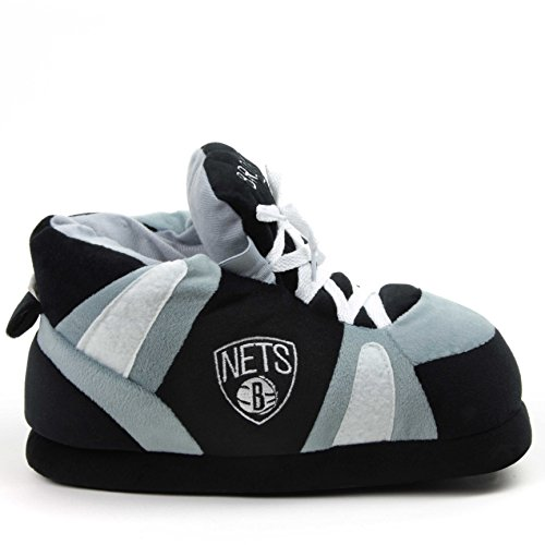 Sleeper'z - NBA Official Licence Pantofole Brooklyn Nets - Adulto Nero