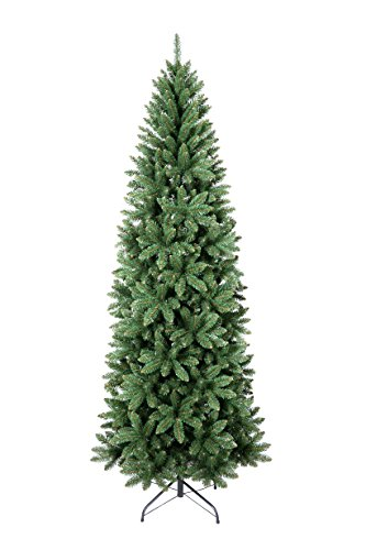 Xone slim - albero di natale 240cm molto folto foltissimo realistico natalizio vail slim