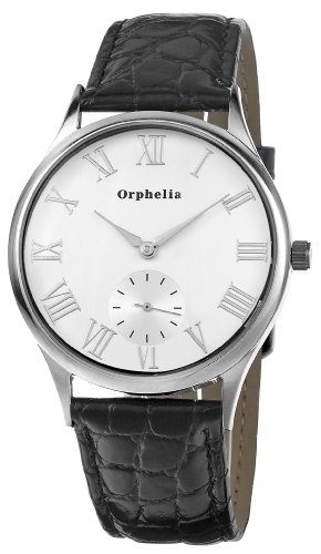 Orphelia OR22670214 - Reloj de pulsera hombre, piel, color negro
