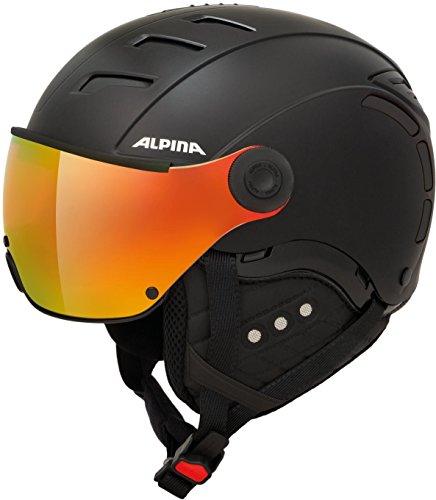 Alpina Unisex- Erwachsene Jump 2.0 QVM Ski-und Snowboardhelm, Black matt, 55-58 cm