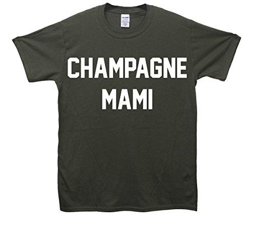 Champagne Mami T-Shirt Khaki