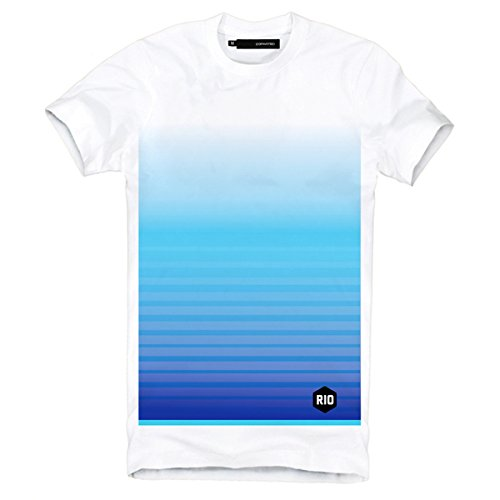 "DEPARTED Fashion Shirt ""3376-040"" Weiß"