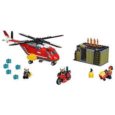 Preisvergleich Produktbild Lego 60108 - Lego City - Feuerwehr-Löscheinheit [UK Import]