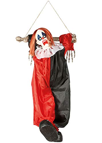 ween Party Umzug Scary Clown Prop Dekoration ()
