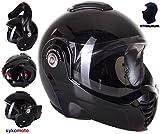 Viper Moto Crash casque modulaire ECE-homologuée Rs-202-Reverse Flip pour...
