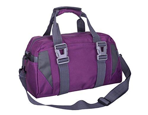 LAIDAYE Yoga Tasche Wasserdichte Reisetasche Sporttasche Fitnesstasche Große Kapazität Handtasche 4