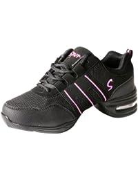 YFCH Zapatos de Danza Moderna Baile de Tango Jazz Hip Hop Zapatos  Deportivos para Mujer 76ecc3b6d68