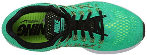 Nike Wmns Air Zoom Pegasus 32, Scarpe da Ginnastica, Donna Multicolore (Menta/Black-Lqd Lime-Ghst Grn)