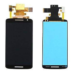 Display LCD Komplett Einheit für Motorola Moto X Play / X 3rd gen / XT1562 / XT1563 Reparatur Schwarz + Werkzeug Opening Tool