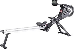 MAXXUS Rudergerät 7.2 - Air-Rower mit Luftwiderstand und Magnetbremssystem. Klappbares Design, ruhiger Lauf. Kugelgelagerte Sitzrollen. Ganzkörpertraining.