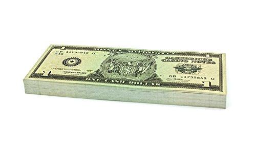 100 x $1 DOLLAR Cashbricks® Spielgeld Scheine