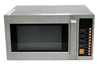 "Commercial Quality Stainless Steel 1Kw Microwave Oven with 25ltr capacity and a 12 month commercial ""on site"" guarantee"