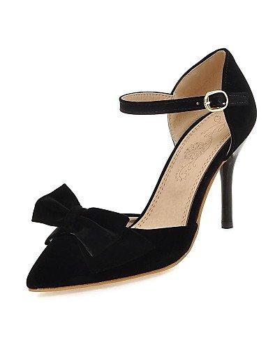 LFNLYX Scarpe Donna-Sandali / Scarpe col tacco-Tempo libero / Serata e festa-Tacchi / D'Orsay / A punta-A stiletto-Microfibra-Nero / Rosso / Red