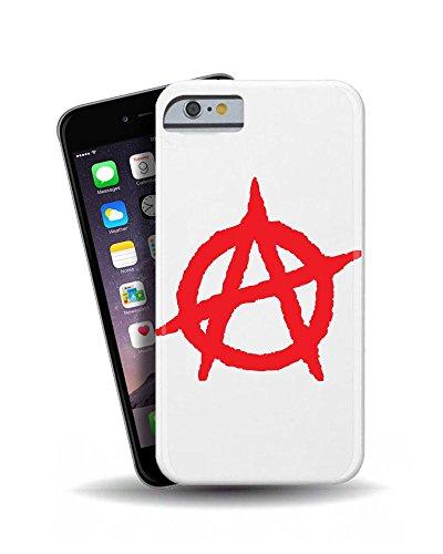 """iPhone 6""""Anarchy Rouge Logo 3D Coque téléphone portable"""