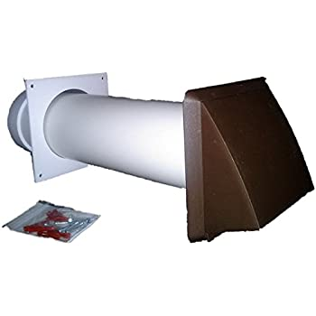 Tumble Dryer Vent Kit Brown Cowl Outlet 100mm 4 Quot Round