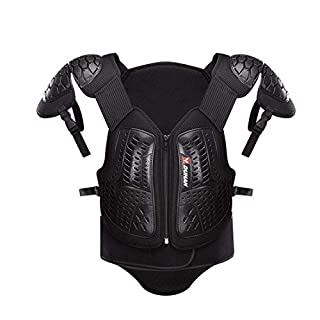 LLC-CLAYMORE Adults Dirt Bike Body Chest Spine Protector Armor Vest Protective Gear for Motorcycle Motocross Skiing Snowboarding,L