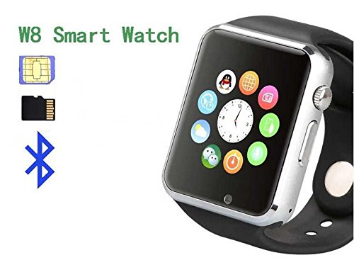 Nokia 220 Compatible Ceritfied A1 Bluetooth Smart Wrist Watch Phone with Social Networking Apps, Camera & SIM Card Support (Assorted Color)  available at amazon for Rs.1599