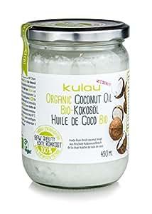 KULAU Bio-Kokosöl RAW 450 ml (Rohkostqualität)