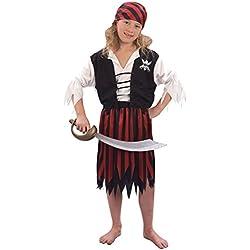 Disfraz para niña de Piratas del Caribe, varias tallas.
